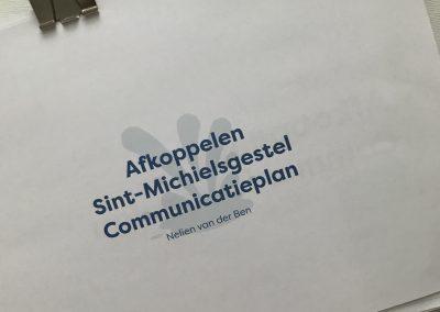 Een communicatieplan om 'af te koppelen'